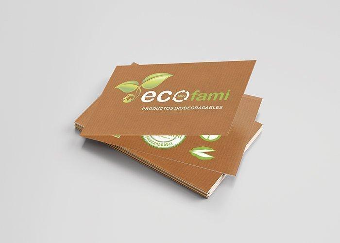 tarjeta visita ecofami