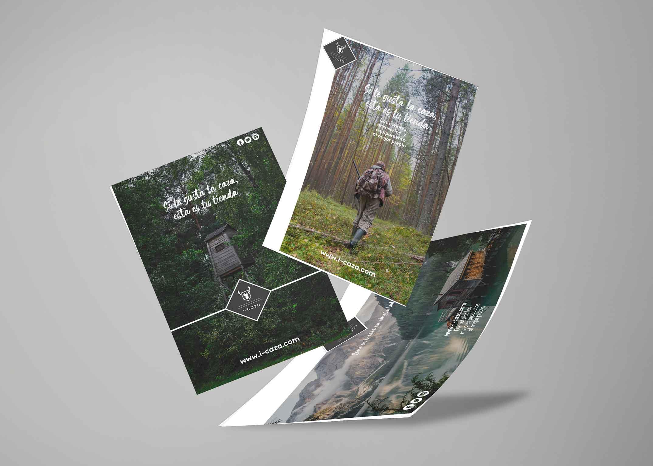 Diseño Publicidades I-caza