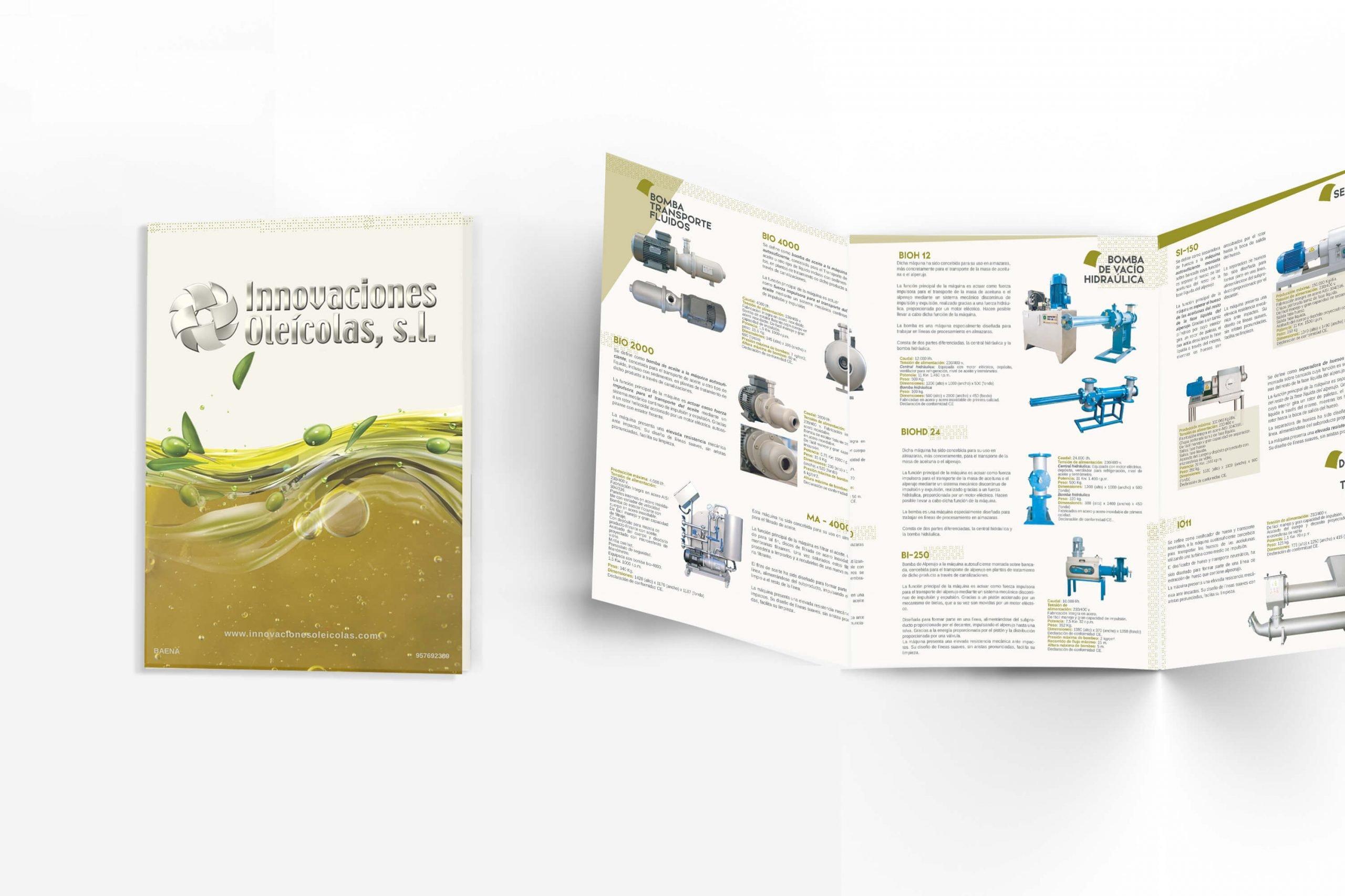 Diseño de Catálogo Innovaciones Oleícolas 1